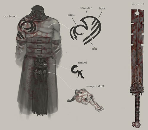 Arte conceptual para Hellboy 2 (Francisco Ruiz Velasco)